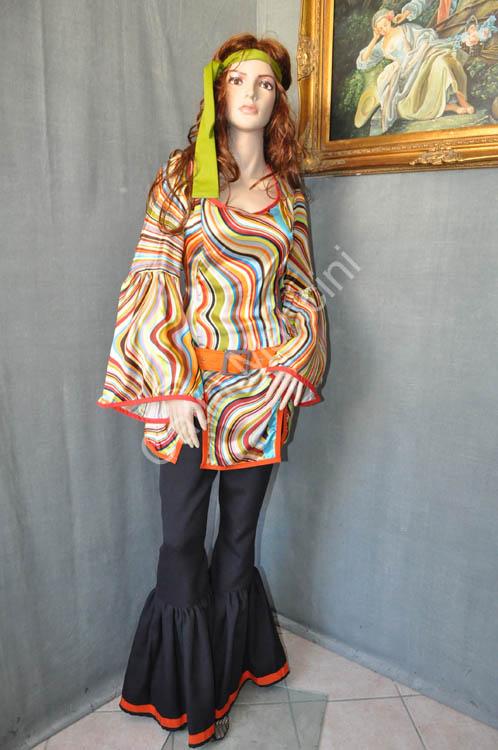 san francisco 1f2df 9eb50 Vestito donna Carnevale Hippy (14)