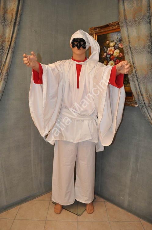 Costume adulto pulcinella commedia dell 39 arte 2 for O giardino di pulcinella roma
