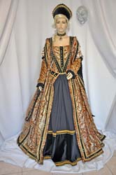 51662e84bb26 Costume Rinascimentale del 1500 Vestito Teatrale e per Rievocazioni N° R002