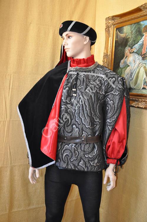 Costume Uomo Medievale con copricapo (5) 1e9878866017