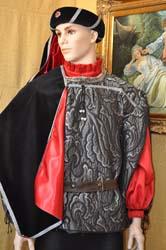 ... Costume Uomo Medievale con copricapo (7) 17731d65bf33