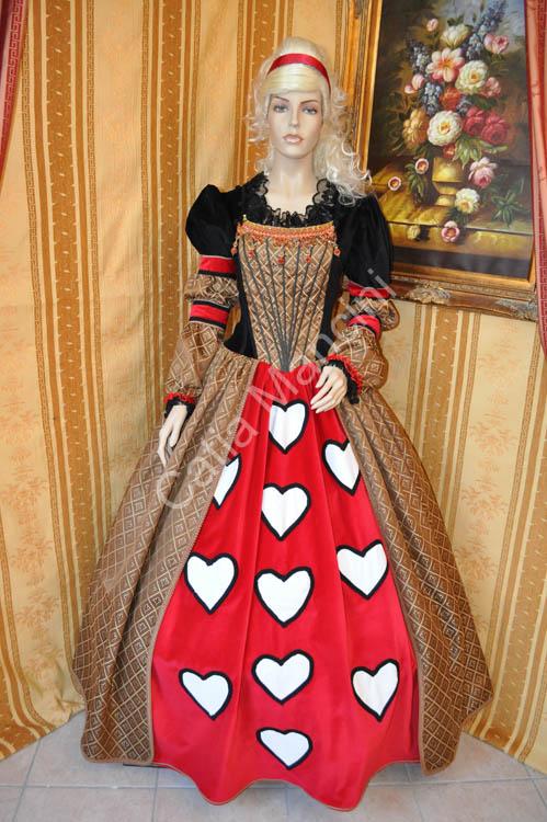 Sartoria Catia Mancini / Costume Regina di Cuori (17)